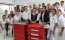 Donan Estudiantes Enfermería de Uni de Sotavento Oreja Gigante Artificial