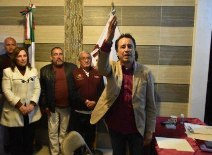Cuitláhuac García se registra por Morena a la gubernatura
