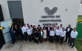 Inaugura Magistrado Presidente del TSJVer Edel Álvarez, el CECOFAM de Córdoba