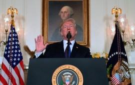 """""""¡Misión cumplida!"""": Trump se congratula del """"ataque perfectamente ejecutado"""" contra Siria"""