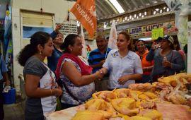 Restaurar Seguridad y Economía metas de Maricela TRONCO