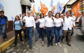 Julen Rementería se reúne con los líderes sociales de Papantla y Tecolutla
