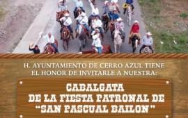 En Cerro Azul este sábado 19 de mayo próximo asiste a la Cabalgata de la Fiesta Patronal de «San Pascual Bailon»