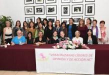 Veracruzanas Líderes de Opinión VELOA reciben a July Sheridan