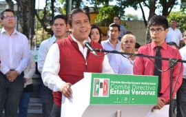 Los jóvenes queremos un gobernador honesto, queremos que sea Pepe Yunes: Carlos Rugerio