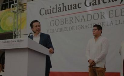 Cuitláhuac García nombra a Esteban Ramírez Zepeta como Jefe de la Oficina del gobernador