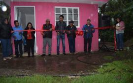 Entrega Filiberto Morales 27 cuartos dormitorio en Plan de la Cruz