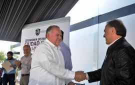 Inaugura Gobernador del Estado, Miguel Ángel Yunes, la Ciudad Judicial de Huatusco