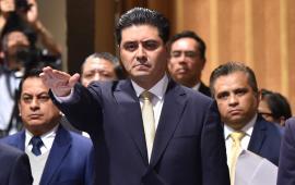 Compareció el Secretario de Gobierno Rogelio Franco, en el Congreso