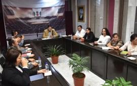 Se reúne diputado Erik Iván con presidentes municipales de la región de Misantla