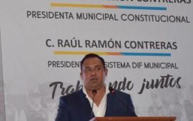 Raúl Ramón Contreras Presidente del DIF de Villa Aldama rinde 1er informe de resultados