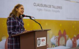 Clausura SEV talleres infantiles de fotografía e idiomas