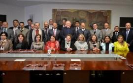 Pleno de Magistrados del TSJ y el Consejo de la Judicatura del Estado realizan brindis con motivo del fin de año