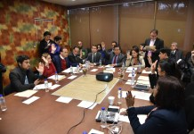 Preside diputado Eric Domínguez, sesión de la Comisión Permanente de Vigilancia