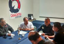 Sostiene SSP reunión con CANACINTRA Córdoba para reforzar seguridad