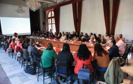 Encabeza reuniónCuitláhuac García y colectivos de familiares de desaparecidos