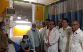 Entrega Secretaría de Salud alta médica a primer paciente de trasplante en 2019