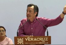La seguridad de Veracruz es prioridad: Cuitláhuac García
