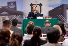 Imparten conferencia sobre violencia estructural y feminicida a servidores públicos del Poder Judicial