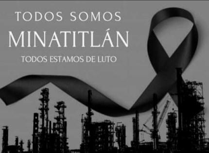 Todos somos Minatitlán ¡Todos estamos de LUTO!