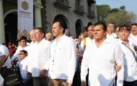 En Veracruz se respetan derechos de los trabajadores y se apuesta a la productividad: Cuitláhuac