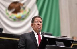 Rinde diputado José Manuel Pozos informe de labores de la Diputación Permanente