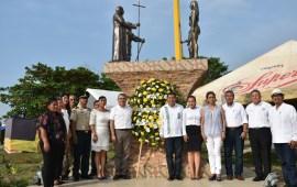 Conmemoran el 497 Aniversario de la fundación de la Villa del Espíritu Santo