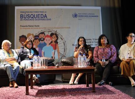 Congreso de Veracruz reitera su compromiso con las familias de personas desaparecidas