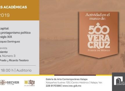 Invita IVEC a conversatorio por los 500 años de la Vera Cruz en Xalapa