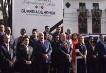 Encabeza PJE guardia de honor por el 209 Aniversario de la Independencia de México