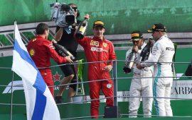 Leclerc logra segunda victoria al hilo; Checo es séptimo