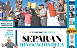 Ocho Columnas Nacionales Sábado 21 de Septiembre de 2019