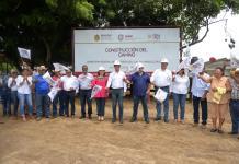 Inicia construcción del tramo Carretera 180-Ciénega del Sur, en Alvarado