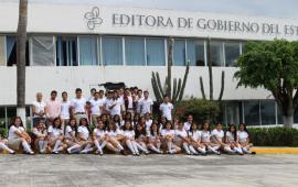 Recibirá Editora de Gobierno a más de 600 estudiantes del CBTIS de Coatepec