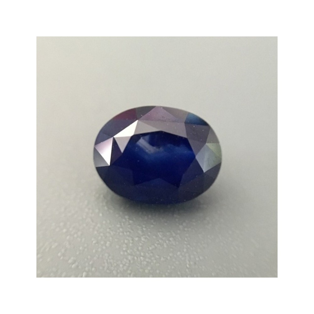 159 Carats Natural Dark Blue Sapphire Loose GemstoneNew