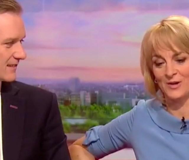 Bbc Breakfast Presenter Louise Minchin Tells Co Host Dan Walker That Friend Bill Turnball Is Remaining Really Upbeat The Sun
