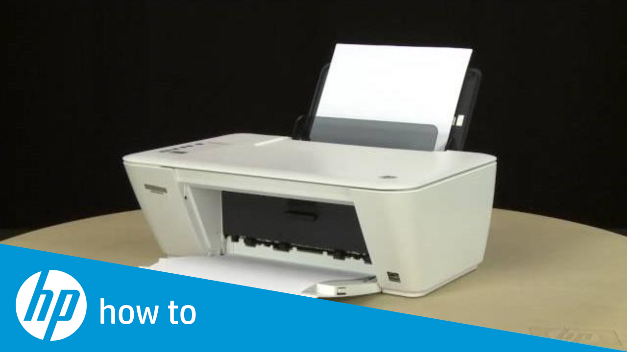 Printing A Test Page Hp Deskjet 2540 All In One Printer