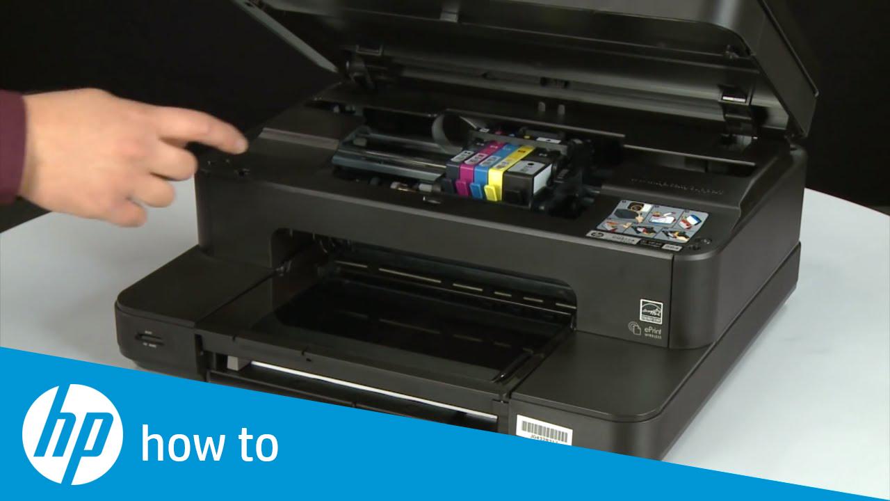 Replacing A Cartridge Hp Photosmart 7510 E All In One