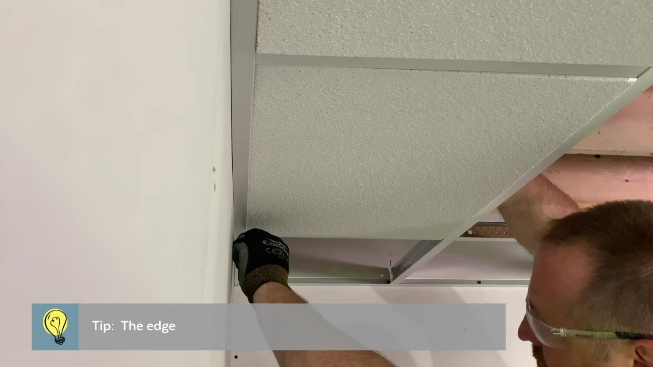 fine fissured 2 ft x 2 ft tegular ceiling tile 64 sq ft case