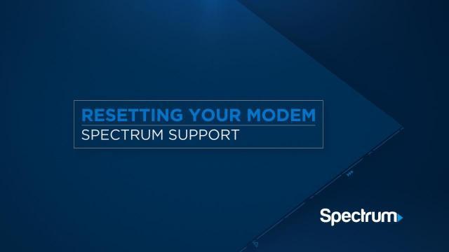 Internet Troubleshooting  Spectrum Support