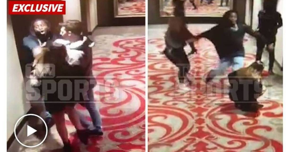 Chiefs Release Kareem Hunt Video Shows He Shoved Woman The Kansas City Sta