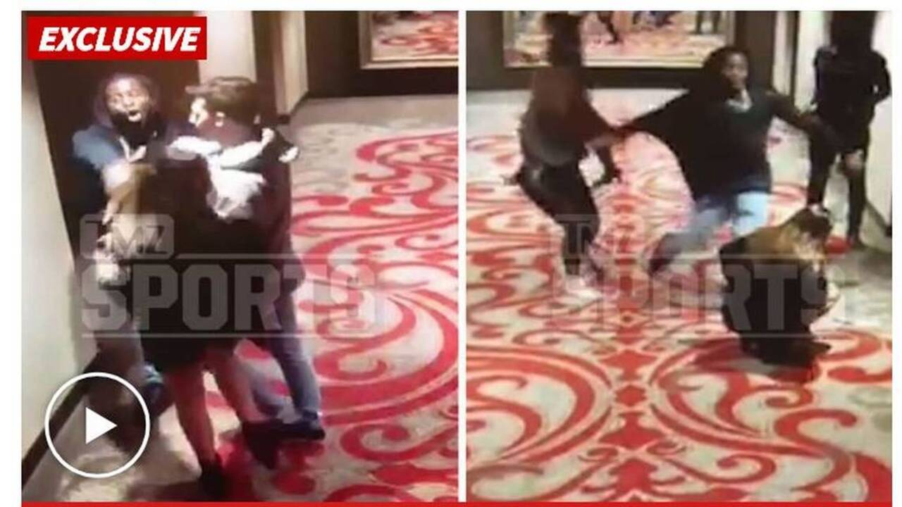 Chiefs Release Kareem Hunt Video Shows He Shoved Woman The Kansas City Star