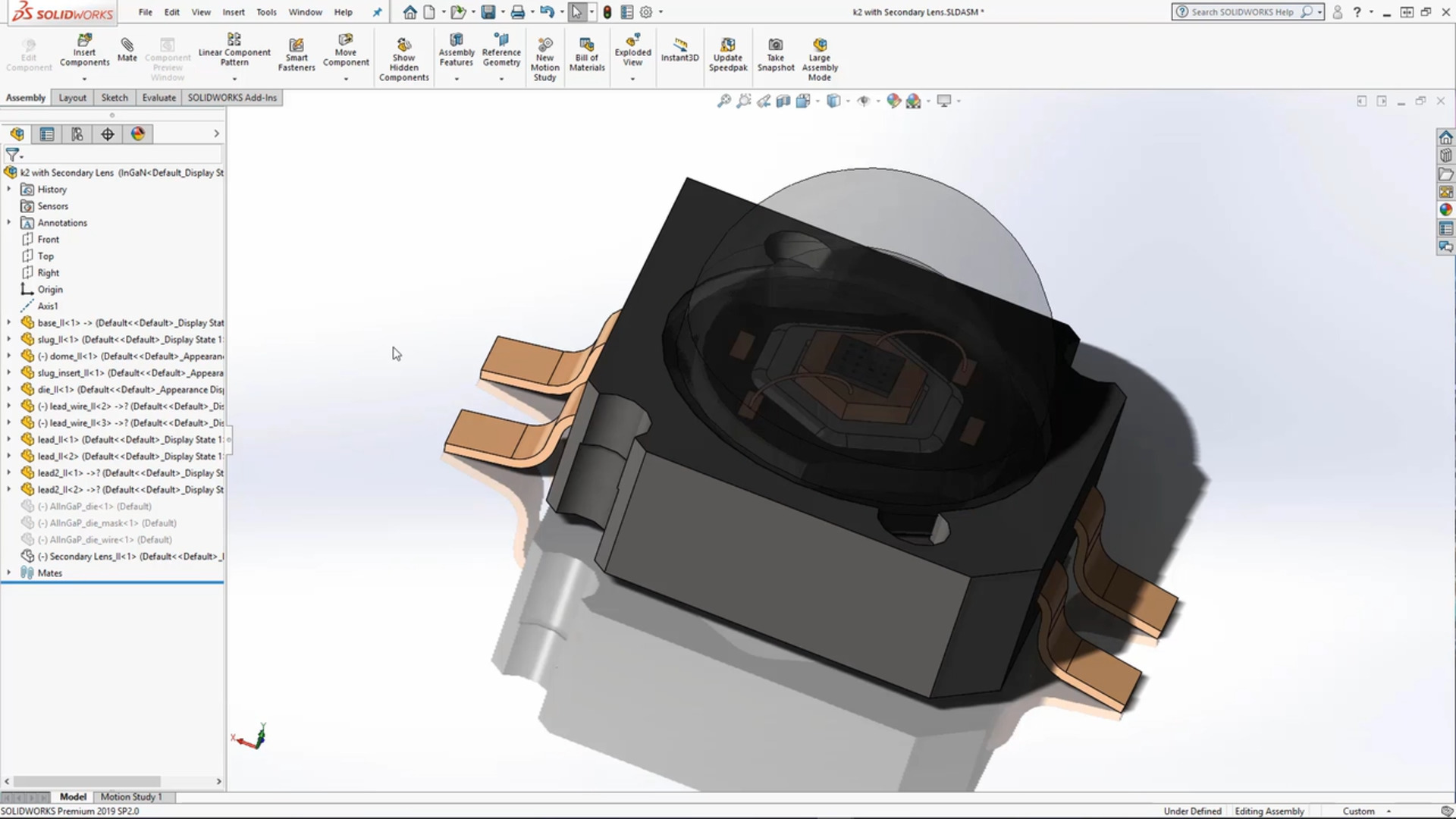synopsys lighttools in cad environments for freeform optical design