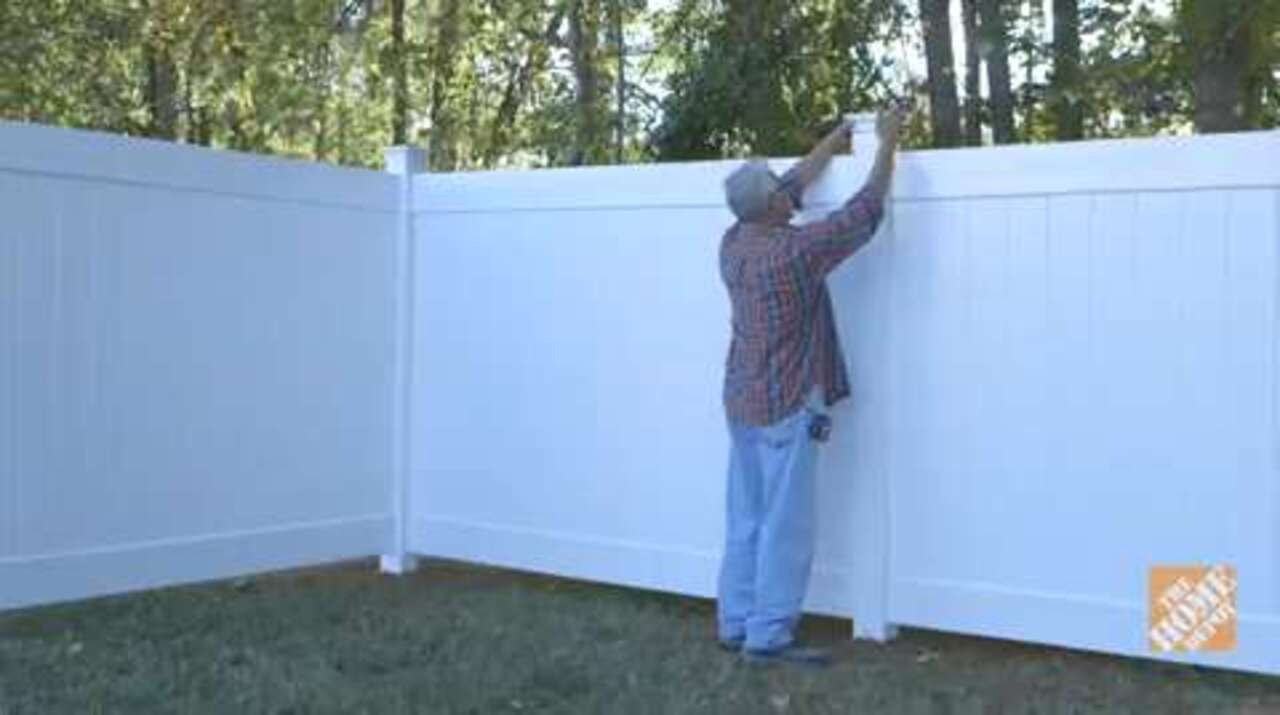 building a vinyl fence fencing how