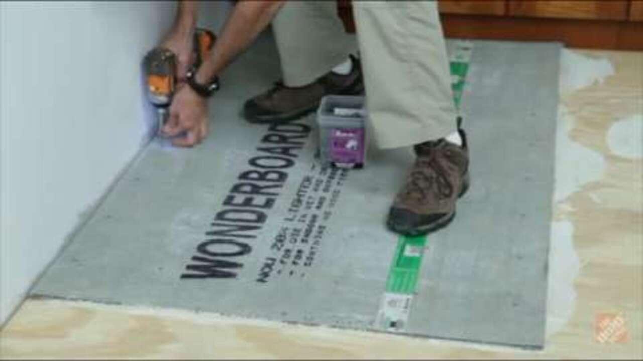 your subfloor for tile flooring