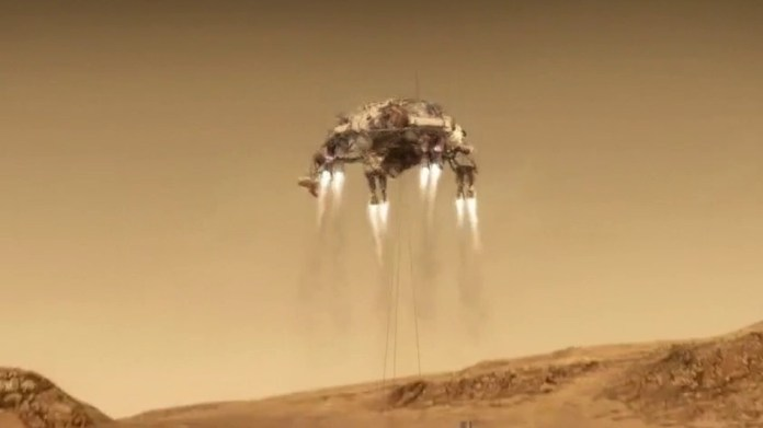 NASA's persistence revolves on Mars after seven months of travel