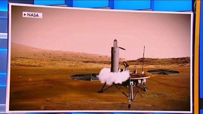 NASA's Persistence Rover Touches Mars