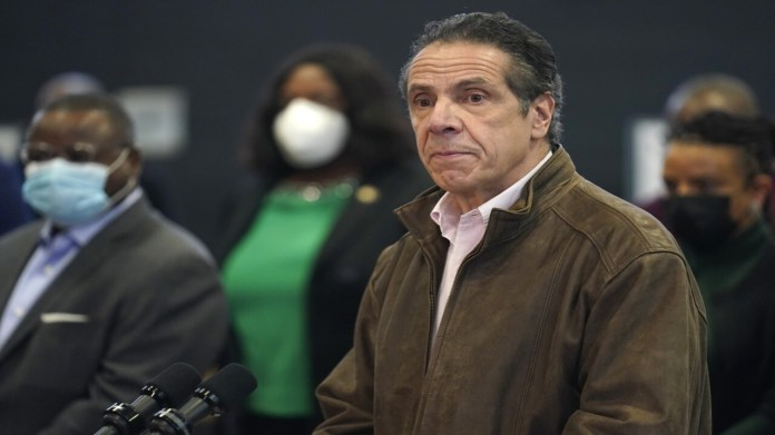 Time's Up movement calls for probe into the Cuomo harassment allegations
