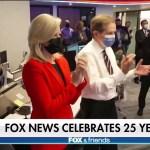 Fox News Channel celebrates 25 years on the air, unveils renovated Washington bureau 💥💥
