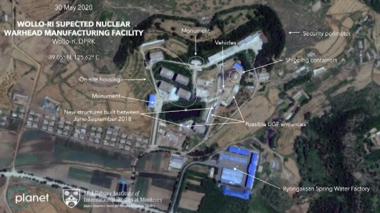 Analysts find suspected new nuclear warhead factory in North Korea